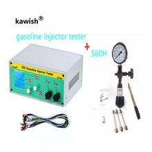 ล่าสุด GIT600 + S60H GDI/FSI gasoline Injector Tester เบนซินหัวฉีดเครื่องทดสอบหัวฉีด Tester