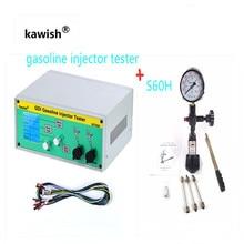 Latest GIT600+S60H GDI/FSI gasoline injector tester petrol injector tester car injector tester