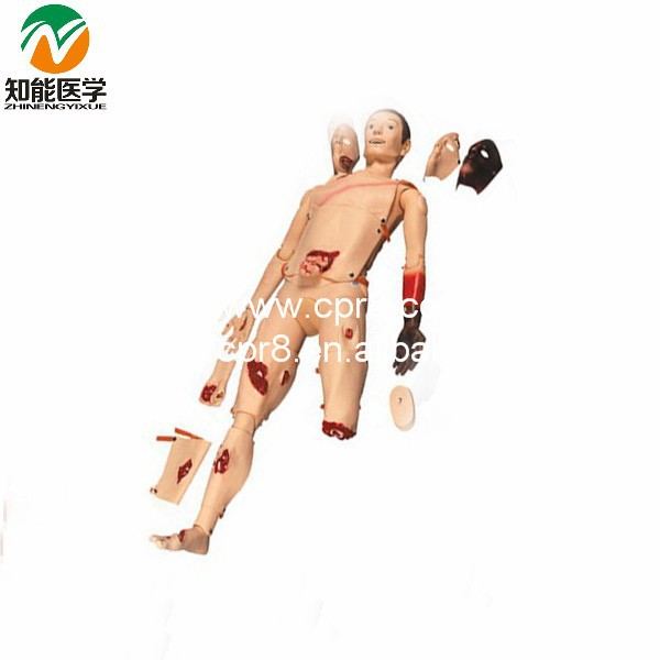 BIX-J110 Medical Model Senior Trauma Training Manikin G049 bix h111 medical science education model full functions trauma nursing manikin w187