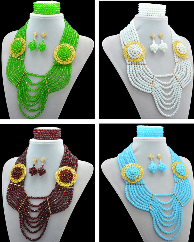 Fashion Latest design African Nigerian Indian beads Traditional ...