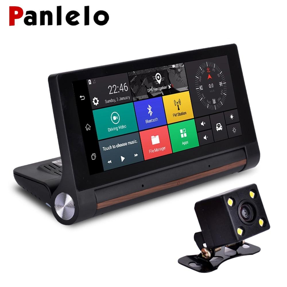 Panlelo GPS Navigation Europe 6.86 pouces Android 5.0 DVR GPS navigateur Bluetooth Automobile avec DVR FHD 1080 P WIFI FM G-SENSOR