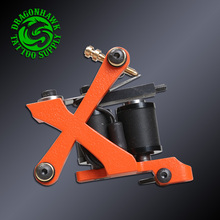 New Fashion Tattoo Machine Handmade Wire Cutting 10 Wraps Coil Tattoo Gun For Liner & Shader Supplies