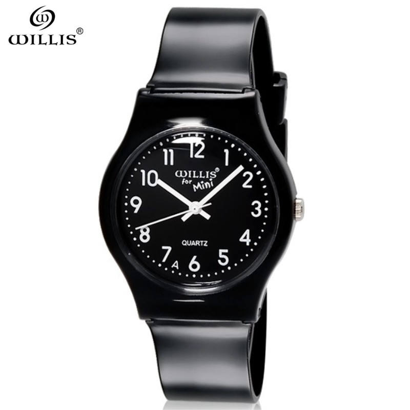 WILLIS Sport Women Watches For Black Silicone Strap  Watches 2017 Brand Waterproof Women Quartz Wristwatches Relogio Masculino original miler brand soft silicone strap jelly quartz watch wristwatches for women man lovers family black for led kids student