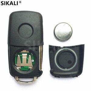 Image 3 - Chave remota automotiva, chave com controle remoto para & nbsp; z, 434mhz com id48 para vw/volkswagen