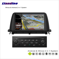 Liandlee For Citroen C3 Aircross 2013~2015 Car Radio BT CD DVD Player GPS Navigation Advanced Wince & Android 2 in 1 S160 System