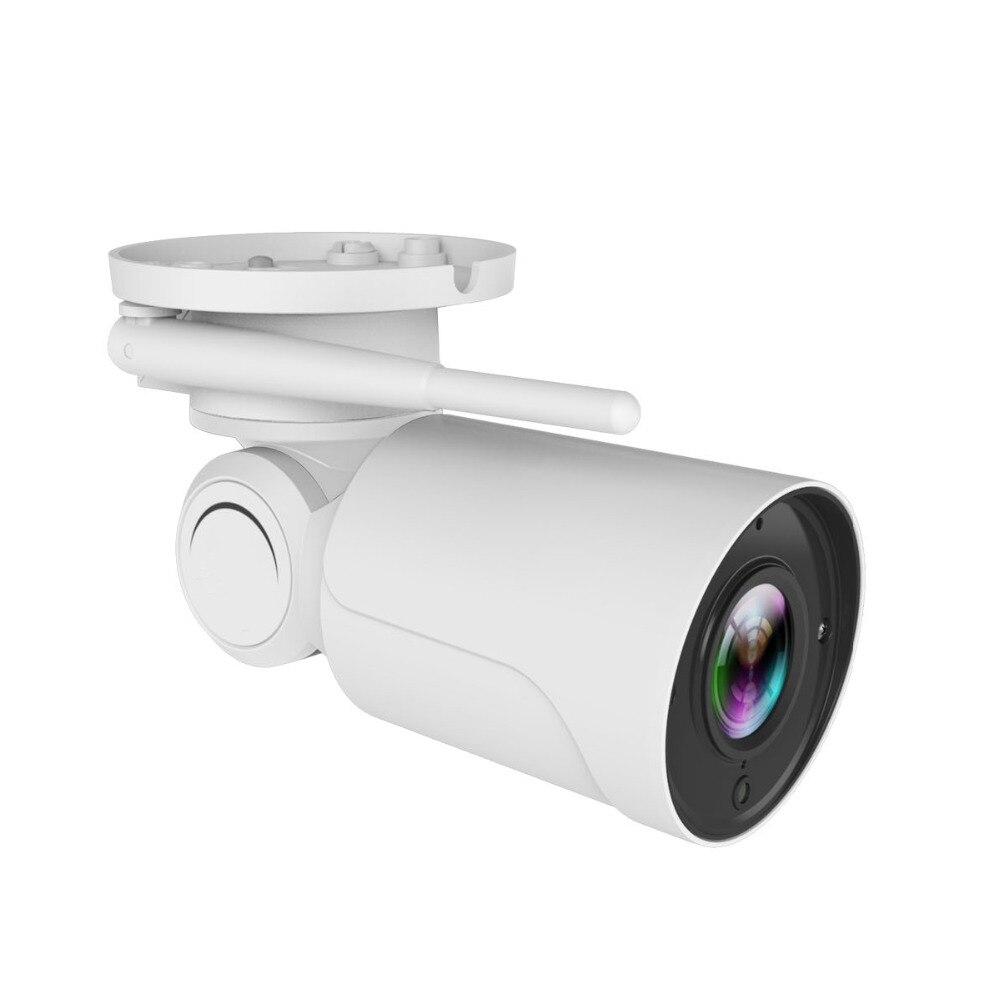 1080P HD Wifi Беспроводная ip камера для домашней безопасности, водонепроницаемая уличная Солнечная камера, ИК ночное видение, двухсторонняя ауди... - 2