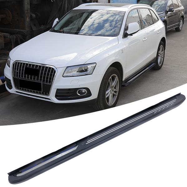 New Style Aluminium Running Board Side Step Nerf Bar fit for Audi Q5 2012 2013 2014 2015 2016 2017