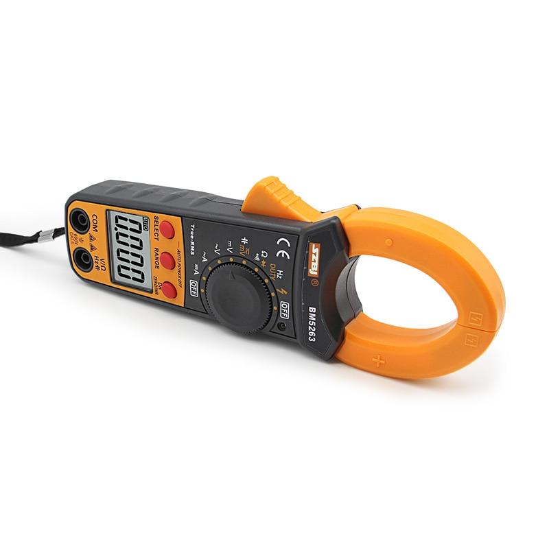 Tools : SZBJ BM5263 high precision AC and DC digital clamp meter digital display AC and DC Clamp Meter pocket current meter