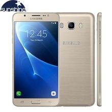 Оригинальный Samsung Galaxy J7 J7108 LTE мобильный телефон Octa Core Dual SIM 3 г Оперативная память 16 г Встроенная память смартфон 5.5 «13.0MP NFC сотовом телефоне
