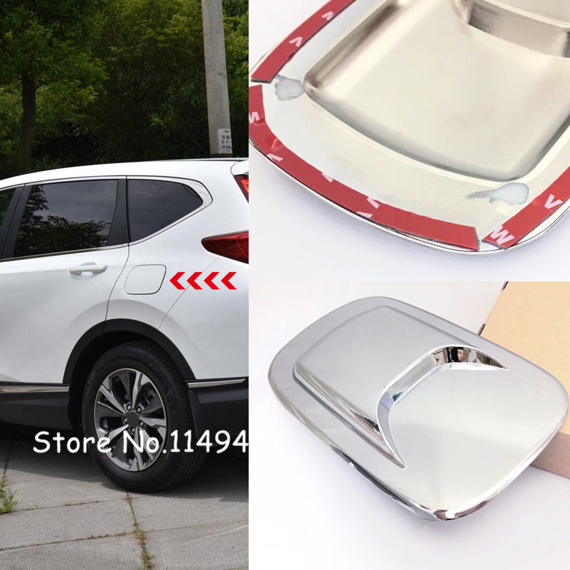 Kind-Hearted For Honda Crv Cr-v 2017 2018 Abs Plastic Car-styling Tank Cap Oil Tank Cover Protective Sticker Cover Trim 1pcs Travel & Roadway Product Automobiles & Motorcycles
