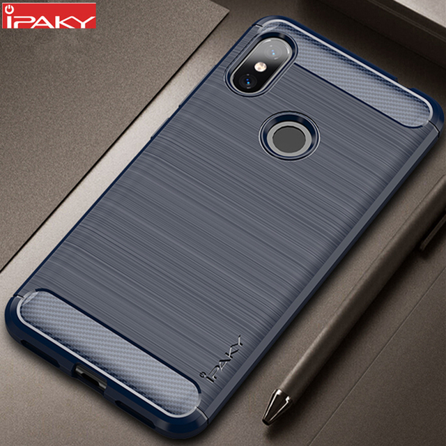 lowest price 49daa aa897 US $4.24 15% OFF|for Xiaomi Redmi Note 6 Case iPaky for Redmi Note 6 Pro  Case Silicone Carbon Fiber Brushed Armor Shockproof for Redmi Note 6-in ...
