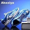 2017 de La Moda de los hombres Entrenadores zapatos Respirables Del Deporte de los hombres Zapatos Ocasionales Planos Para Caminar Al Aire Libre Zapatillas Mujer tenis femenino de Impresión 3D