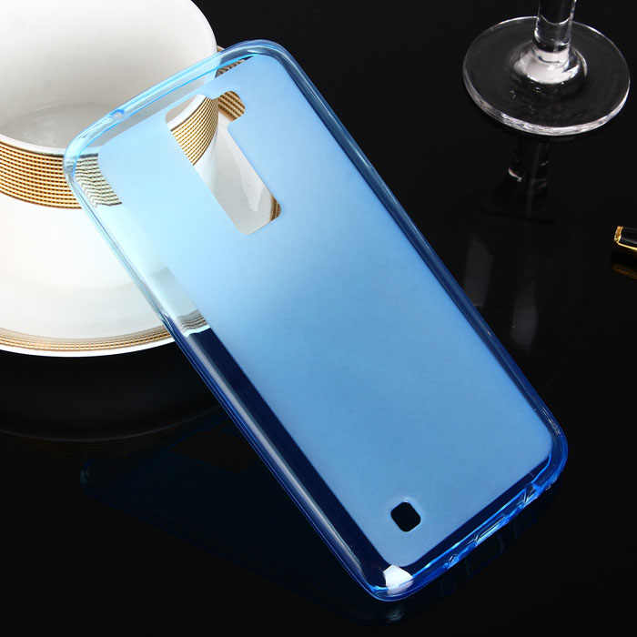 Funda antideslizante para teléfono móvil LG K8, para LG K8 color dulce TPU funda protectora suave armazón protector bolsa LGK8 teléfono antiguo no 2017
