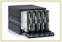 INNO 6205SSB 5*3,5 hot swap HDD модуль занимают 3*5,25 CD ROM пространство