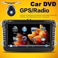 Для VW GOLF 5 6 ПОЛО PASSAT JETTA TIGUAN TOURAN Автоэлектроника Радио Двойной 2din Car DVD С Bluetooth USB/SD