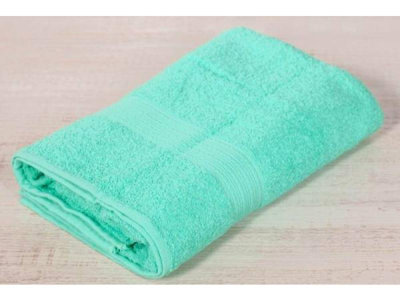 Hand towel and face BAYRAMALY, 50*90 cm, turquoise business card holder v 90 fp turquoise