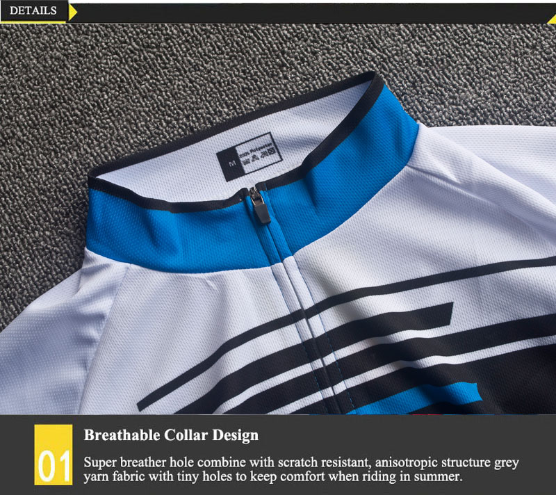 6 cycling jersey set