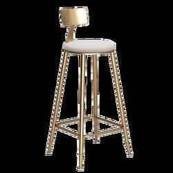 Nordic Стиль гладить Книги по искусству барный стул творческий многофункциональный коммерческих высокого стула со спинкой и подставка для