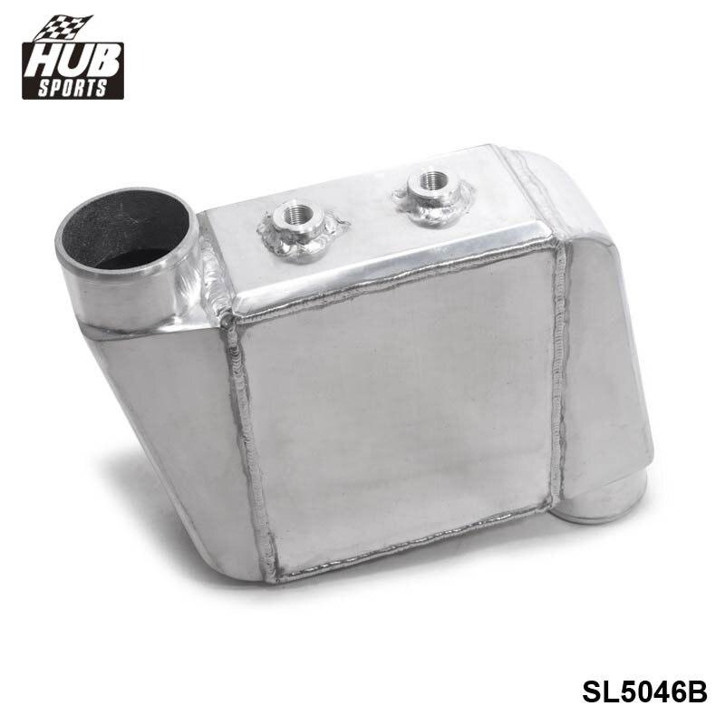 """Universal Aluminium Wasser Zu Luft Turbo Inter FMIC 250X220X115mm Einlass/Outlet: 3,5 """"HU SL5046B auf HUBsport DE Store"""