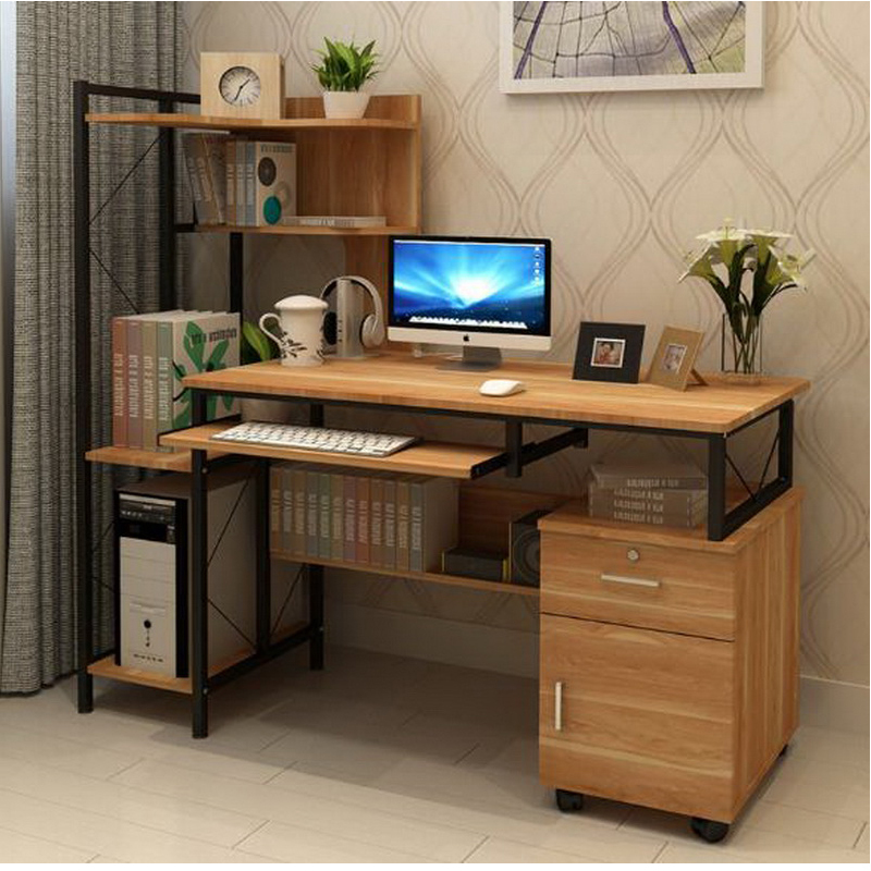 250332 modern minimalist desk desktop computer desk simple desk high quality materials stable. Black Bedroom Furniture Sets. Home Design Ideas