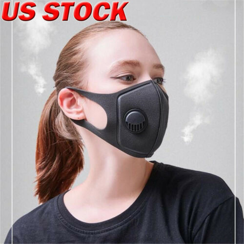 Anti PM 2.5 Pollen Dust Breathing Mask Washable Anti-fog Activated Carbon Filter