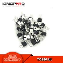 14pcs*2values 28pcs L7805 L7806 L7808 L7809 L7812 L7815 L7824 L7905 L7906 L7908 L7909 L7912 L7915 LM317 TO220 kit
