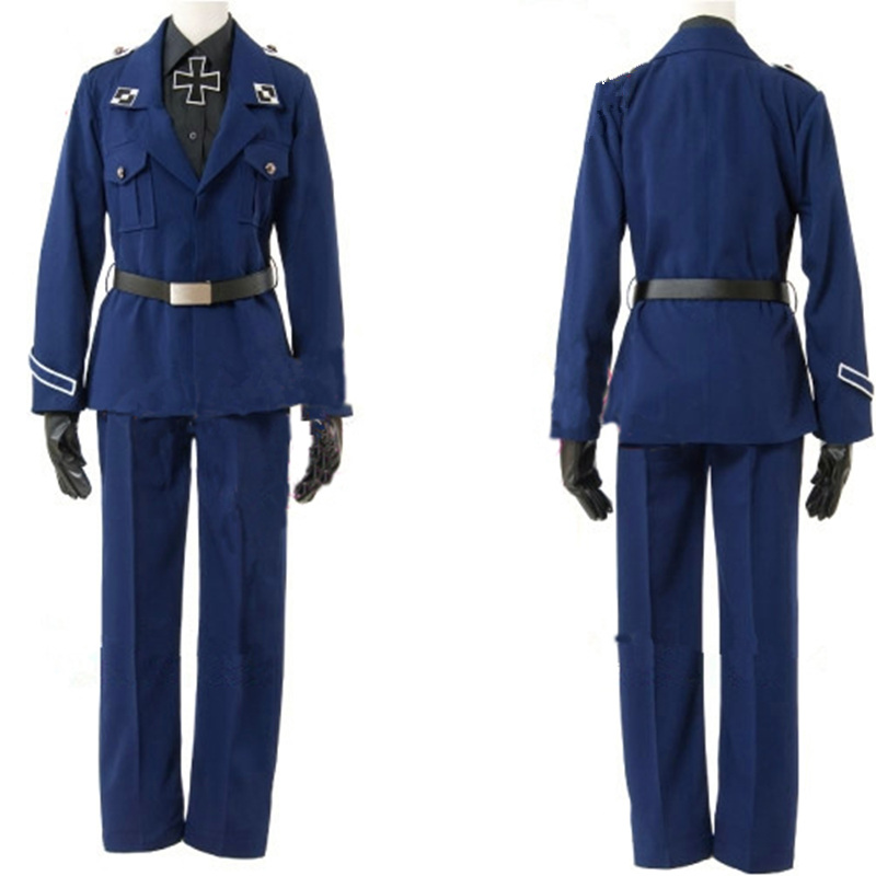 APH Axis Powers Hetalia Prussia Gilbert Cosplay Costume Custom Made Any Size