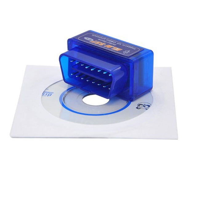 Wireless V2.1 OBD2 OBD ii Super Mini ELM327 Bluetooth Interface Car Scanner Diagnostic Tool ELM 327 For Android Torque Windows