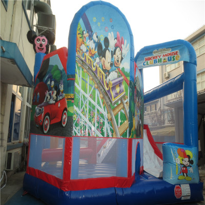 Inflatable Combo Slide Bouncy Castle trampoline playground CE/UL blower YLW-bouncer 195 inflatable obstacles inflatable castle inflatable slide porter castle yly 119