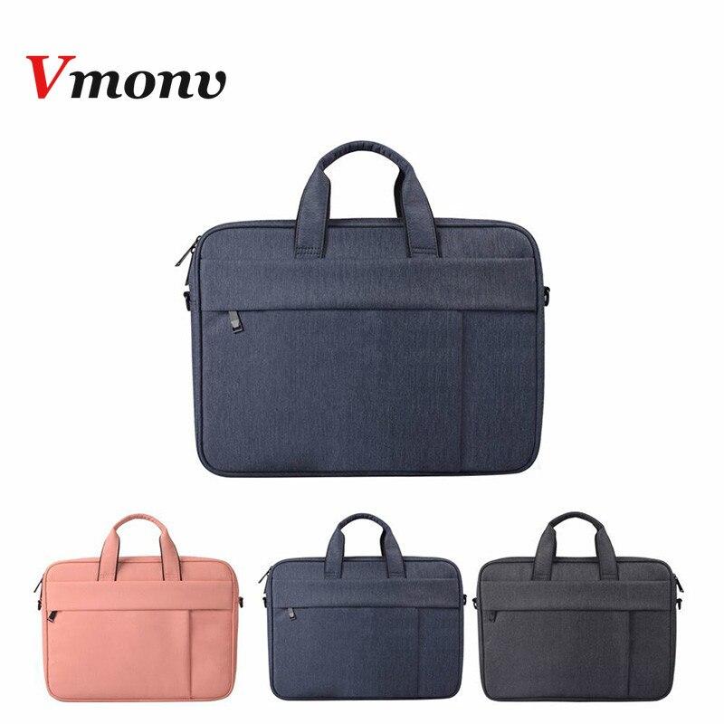 Vmonv мягкая нейлоновая сумка для ноутбука, чехол для Dell Asus Lenovo, сумка для ноутбука на плечо, чехол для Macbook Air Pro Reitina 13 15