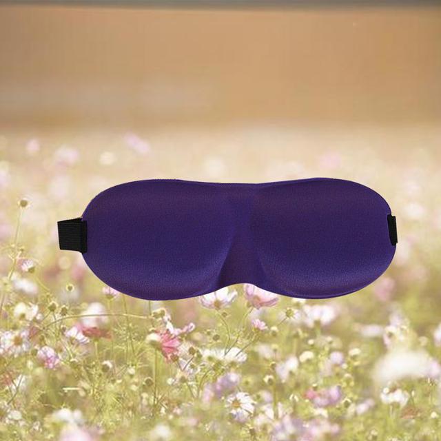 Dewtreetali funda de sombra acolchada de espuma para el descanso de viaje máscara de ojo de sueño parasol para dormir Blindfold