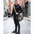 2017 Gymshark Hoodies camisetas masculina hombre coat Bodybuilding and fitness hoodies Sweatshirts Muscle men's sportswear