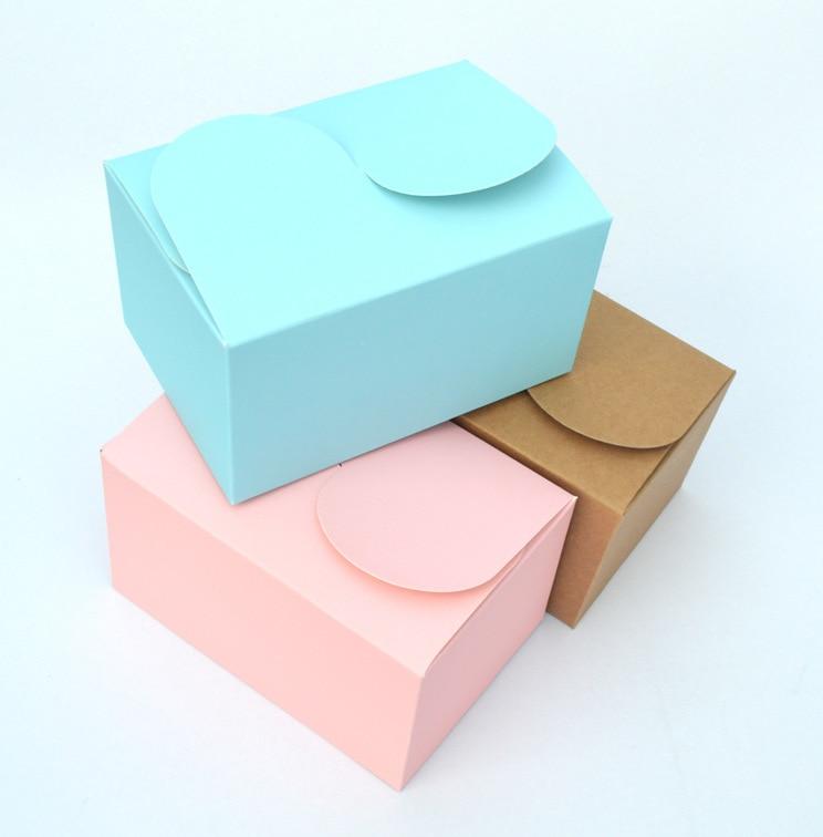 Kraft Cake Box With Handle