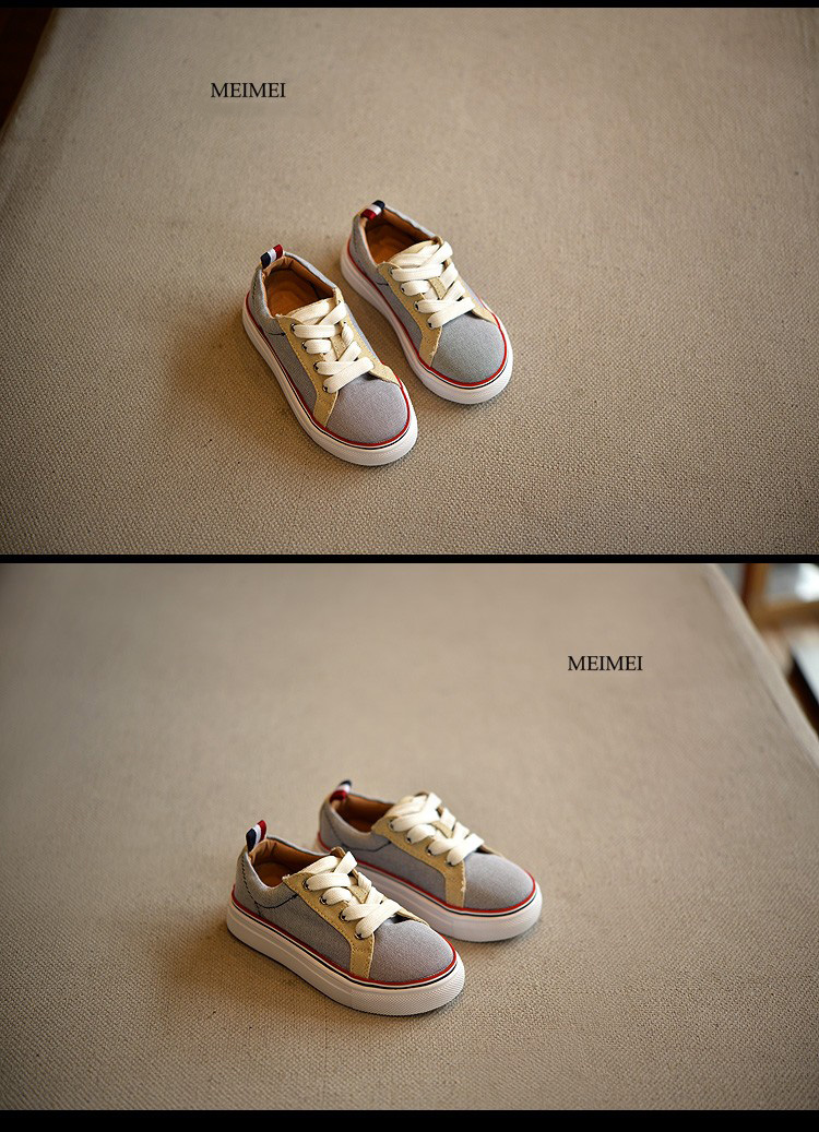 17 New Brand children shoes Fashion girls canvas shoes student Flat kids boys loafers sneakers toddler baby shoes for sports 4