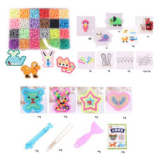 10/15/24Colors Water Spray Magic Beads Kit Kids Puzzle Toys For Fun DIY Game 3D Puzzle Kit Educational Toys many perler Beads(China)