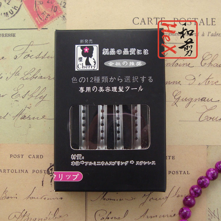 12pcs/box professional hair clips for the hairdresser metal curl hair - Hair Care and Styling