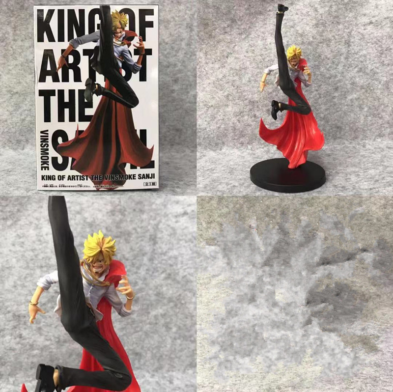 Anime <font><b>One</b></font> <font><b>Piece</b></font> <font><b>Sanji</b></font> 108 Generations Ver PVC Action Figure Collectible Model doll toy 25cm image