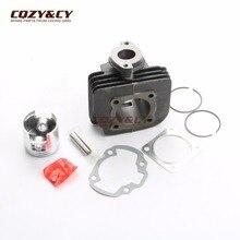 Kit cylindre cylindrique 70cc, Kit de Piston et joint de cylindre pour TGB 101R 101S 203 303R, livraison F409 Laser R50X 50 47mm/10mm