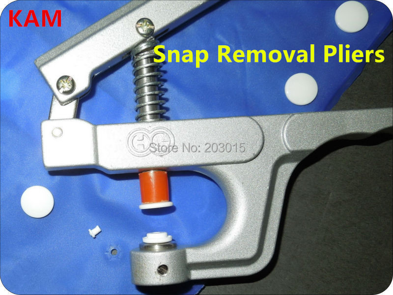 1pc KAM Snaps Remover Pliers To REMOVE Plastic Snaps From Fabric DK003