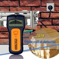 3 In 1 Multi Function Metal Detectors Wood Stud AC Voltage Live Wire Tester Wall Scanner