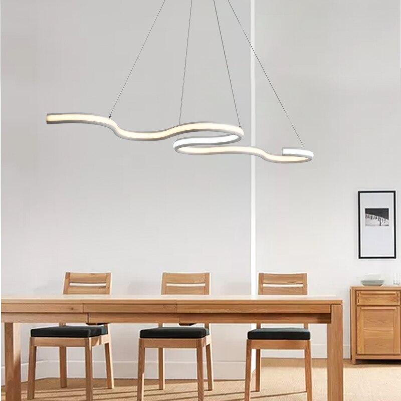 Suspension Double Luminaire Jpg Modern Two Rings Led Pendant Light