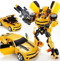 New Design 42cm Robocar Transformation Robots Car model Classic Toys Action Figure Gifts For Children boy toys Music car model