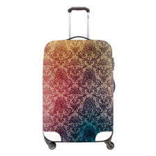 6 LC2 printed elastic polyester travel luggage cover for 20inch-32inch suitcase ,elastic luggage cover,luggage cover Freeshipping
