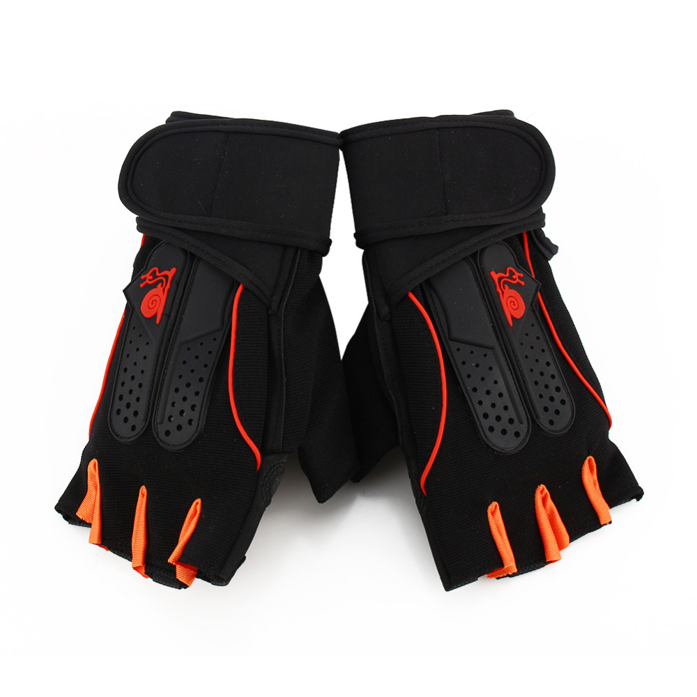 Half Finger Anti Slip Weightlifting Gloves