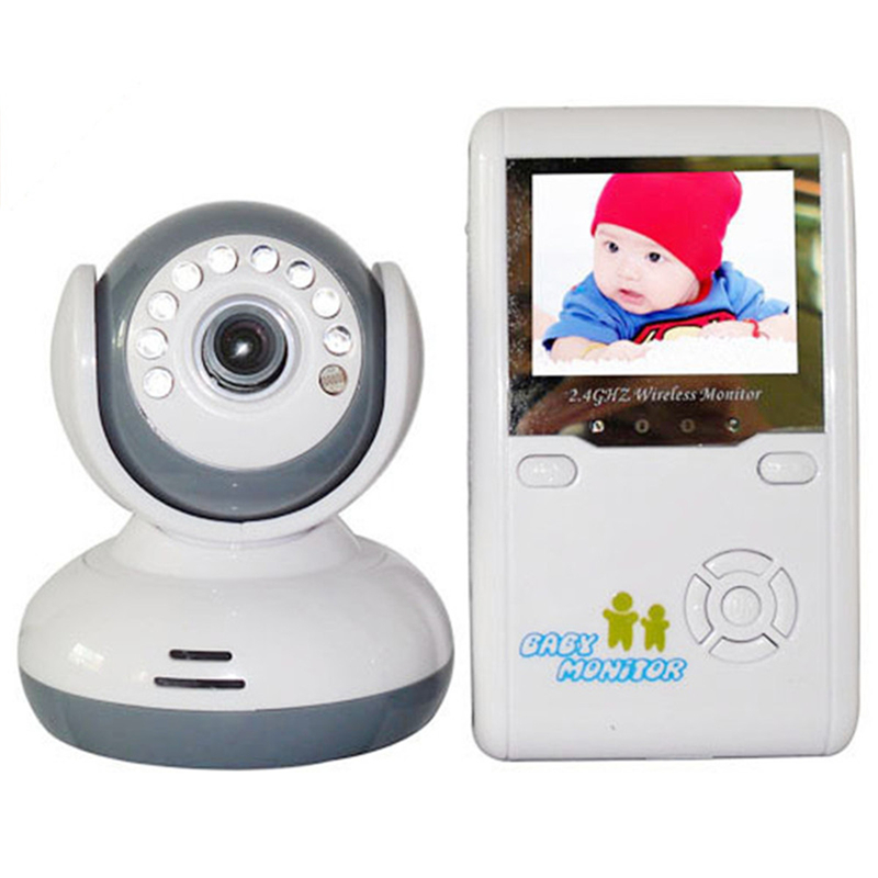 New 2.4G Wireless Camera Color LCD Audio Baby Monitor With Camera Night Vision Babyphone Baby Nanny Surveillance Security Camera