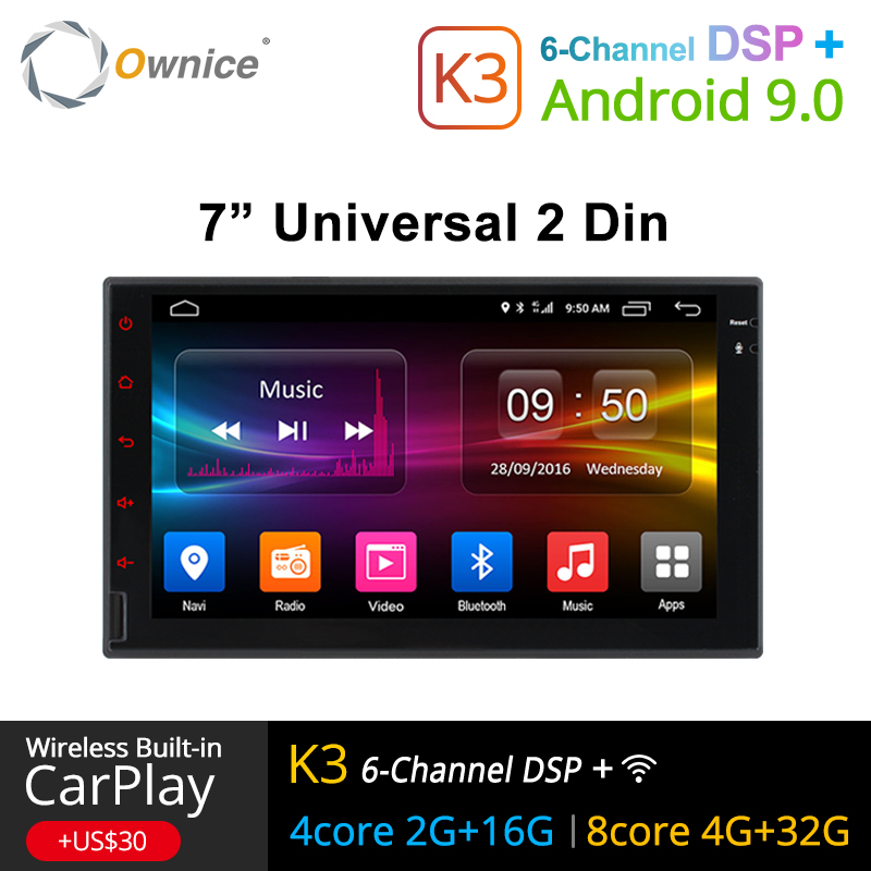 Ownice K1 K2 K3 Octa  8 Core Android 2G RAM  32GB ROM Support 4G LTE SIM Network Car GPS 2 din Universal car Radio dvd playerOwnice K1 K2 K3 Octa  8 Core Android 2G RAM  32GB ROM Support 4G LTE SIM Network Car GPS 2 din Universal car Radio dvd player