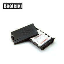 6xAAA Battery Case For Walkie Talkie Baofeng UV-5R UV-5RE Plus Radio