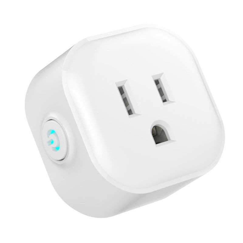 FUNN-US Plug Ifttt Smart Plug No Hub Required Wi-Fi Control your Devices from Anywhere Smart Timer Wireless Outlet - Compatibl 140f1142 devireg smart интеллектуальный с wi fi бежевый 16 а