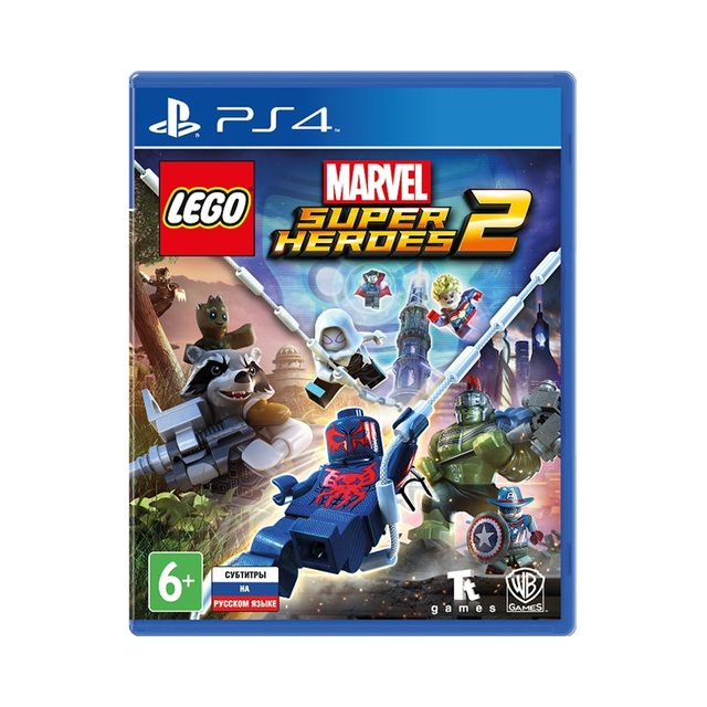 Игра для PlayStation 4 LEGO Marvel Super Heroes 2