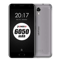 Ulefone Power 2 America version Mobile Phone 5.5 Inch FHD MTK6750T Octa Core Android 7.0 4GB+64GB 16MP 6050mAh Fingerprint 4G(China)